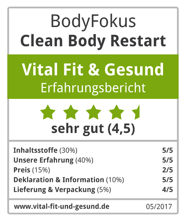 Vital Fit & Gesund Siegel